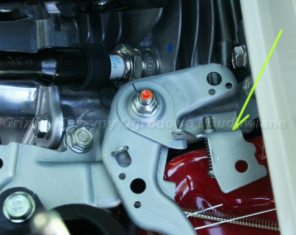 Honda GX 160 – opornik dźwigni gazu