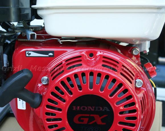 Silnik Honda GX 160 napędza pompę Koshin STH 80X
