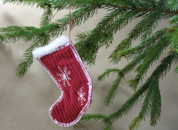 KingaArt but Świętego Mikołaja
