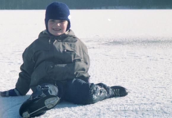 Jezioro Pluszne - Ania na łyżwach