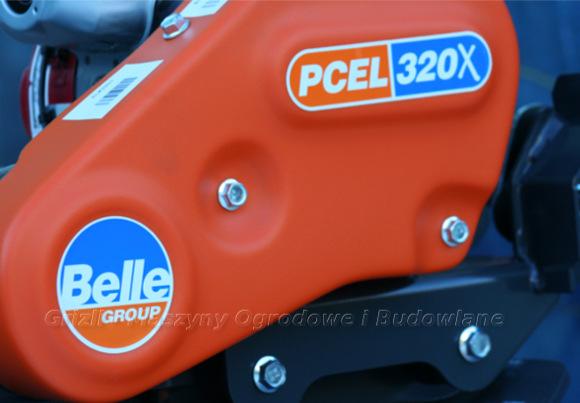 Zagęszczarka Belle PCEL 320X - lekka zagęszczarka o bardzo dobrych parametrach użytkowych.