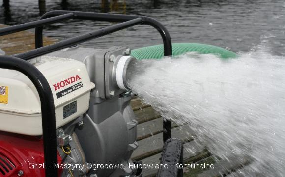 Pompa Honda WB30X - promocja w Grizli