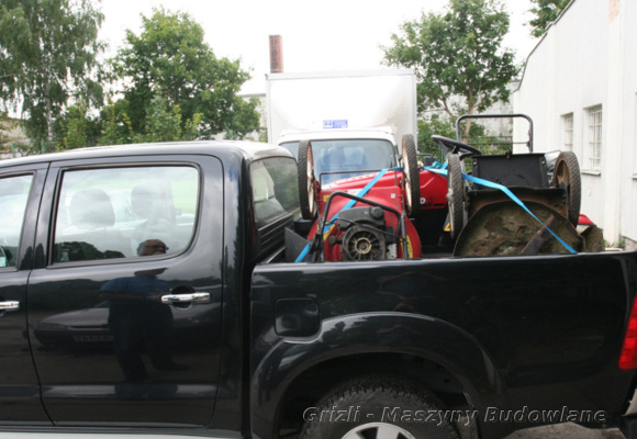 Serwis kosiarki - tutaj transport do serwisu