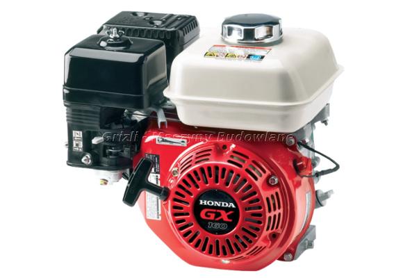 Silnik Honda GX 160, 4-suwowy, górnozaworowy, benzynowy, niezawodny