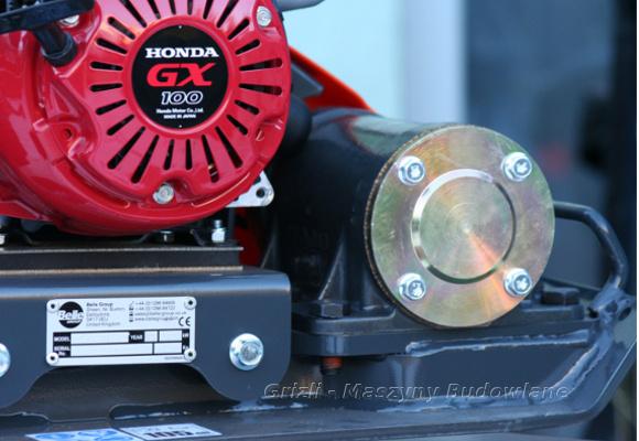 Zagęszczarka Belle PCEL 320X, napędzana silnikiem Honda GX 100. 3 lata gwarancji na silnik