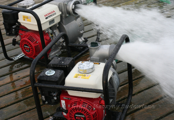 Pompy do wody Honda i Koshin, zasilane silnikami Honda. 3 lata gwarancji