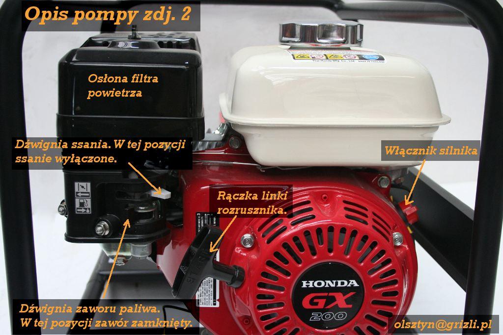 Pompa Honda WB20 - opis - foto 2
