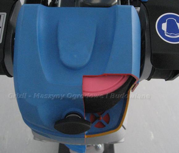 Weber - ubijaki wibracyjne - tutaj filtr powietrza w SRV 650